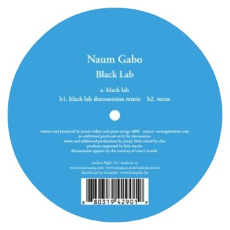 Naum Gabo ‎– 'Black Lab' (2009)