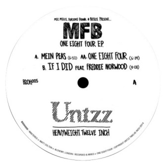 MFB – 'One Eight Four E.P.' (2014)