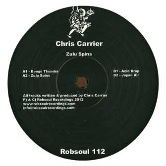 Chris Carrier – 'Zulu Spin' (2012)