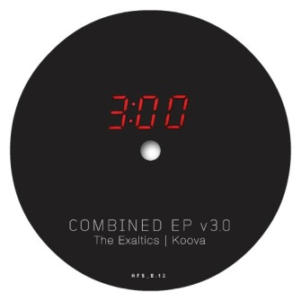The Exaltics / Koova ‎– 'Combined EP V3.0' (2012)